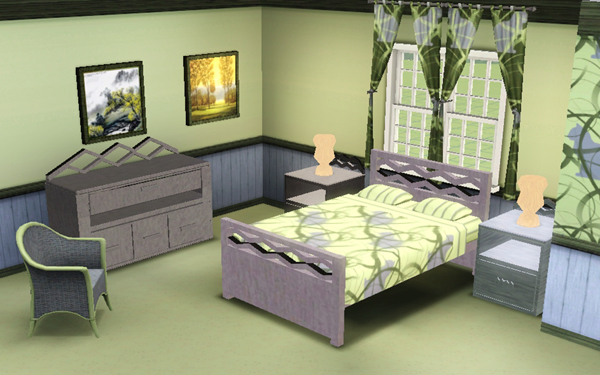 sims3 baraquesasims les chambres. Black Bedroom Furniture Sets. Home Design Ideas
