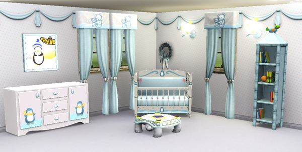 Sims3 baraquesasims les chambres enfants for Store chambre bebe