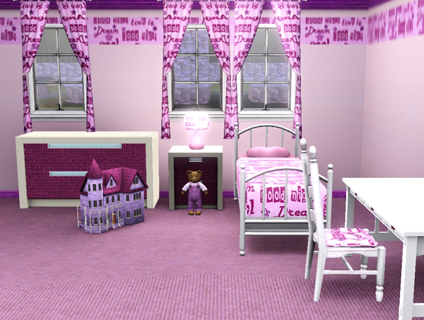 sims3 baraquesasims les chambres enfants. Black Bedroom Furniture Sets. Home Design Ideas