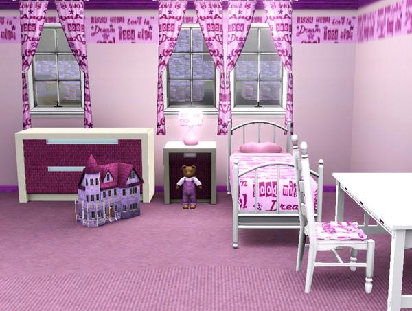 Chambre Loft Bébé : SIMS3 BaraquesAsimS – Les chambres enfants