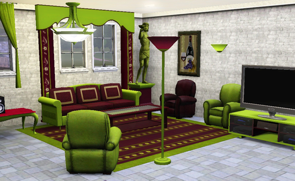 sims3 baraquesasims les sejours. Black Bedroom Furniture Sets. Home Design Ideas