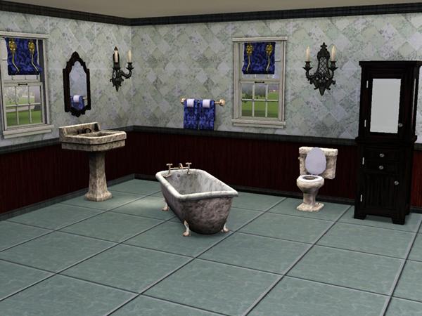 Sims3 baraquesasims set inspiration empire - Inspiration salle de bain ...