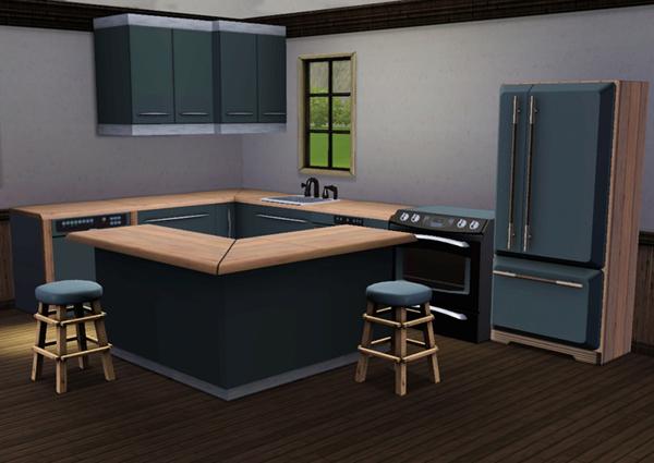 Cuisine ultra design sims 3 for Cuisine ultra design