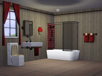 SIMS3 BaraquesAsimS - Les Salles de bain