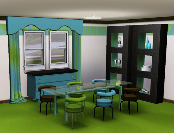 sims3 baraquesasims les salle a manger. Black Bedroom Furniture Sets. Home Design Ideas