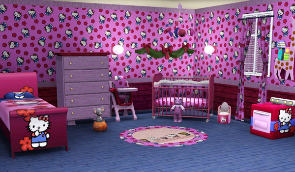sims3 baraquesasims les chambres enfants. Black Bedroom Furniture Sets. Home Design Ideas