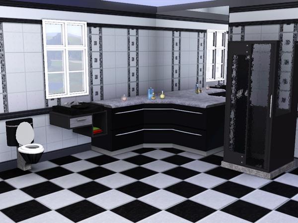 Sims3 baraquesasims les salles de bain - Salle de bain loft ...